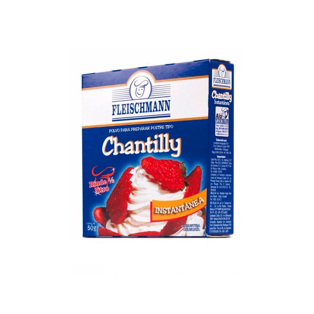 Chantilly-Fleischmann---50g