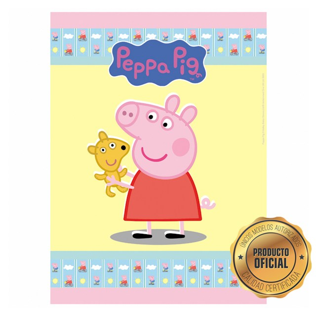 PP7 - Peppa Pig con Teddy Rectangular5